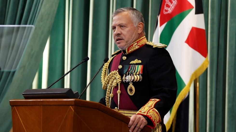 الملك عبدالله الثاني يوجه رساله للشعب الأردني