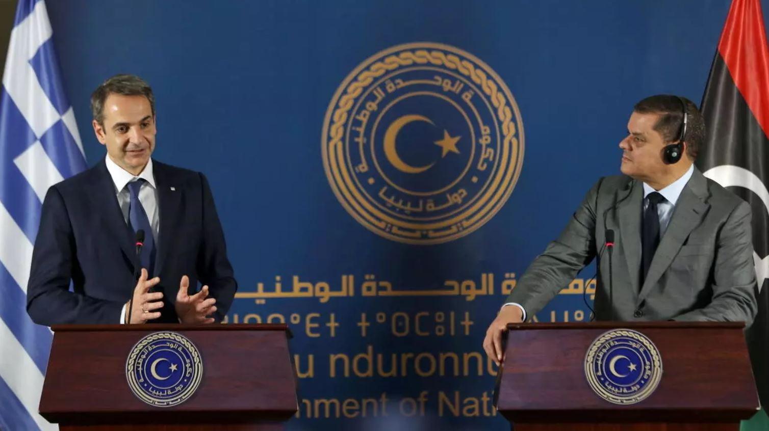 ليبيا تظهر استعدادها للتفاوض مع اليونان على ترسيم الحدود