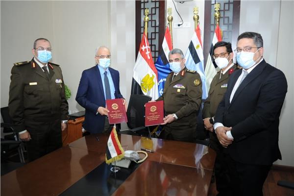 صور| القوات المسلحة توقع بروتوكول تعاون مع وزارة الصحة والسكان
