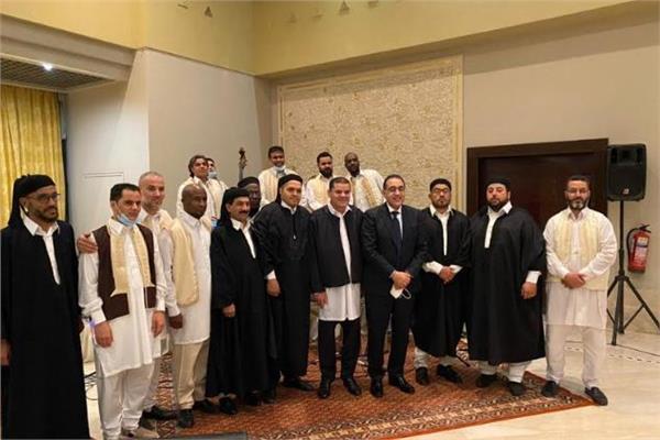 حكومة الوحدة الوطنية الليبية تقيم مأدبة إفطار لدولة رئيس الوزراء والوفد المرافق