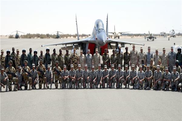 صور وفيديو| اختتام التدريب الجوي المصري السوداني «نسور النيل 2»