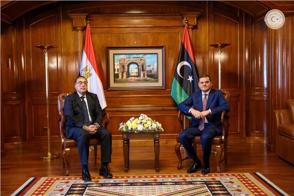 دولة رئيس الوزراء يدعو نظيره الليبي لزيارة مصر لاستكمال إجراء الاتفاقيات المشتركة