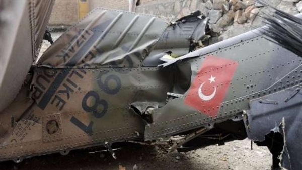 وزارة الدفاع التركية تعلن تحطم طائرة عسكرية غرب تركيا