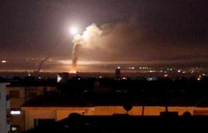 الدفاعات الجوية السورية تتصدى لهجوم إسرائيلي في أجواء العاصمة دمشق