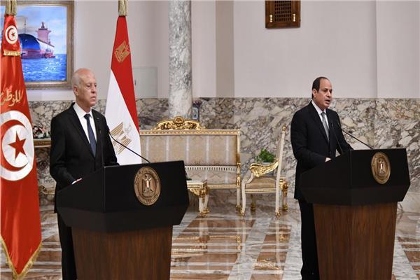 نص كلمة الرئيس السيسي خلال القمة «المصرية التونسية»