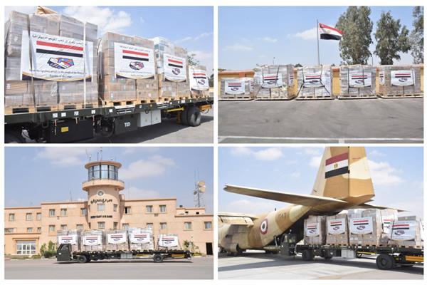 مصر ترسل مساعدات طبية لـ «الكونغو الديمقراطية» بتوجيهات من الرئيس السيسي