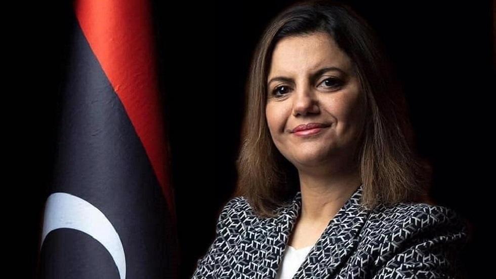 وزيرة الخارجية الليبية تجدد دعوتها لخروج القوات الأجنبية والمرتزقة من ليبيا