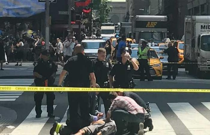 "إغلاق ميدان ""تايمز سكوير"" في نيويورك إثر وقوع حادث إطلاق نار"