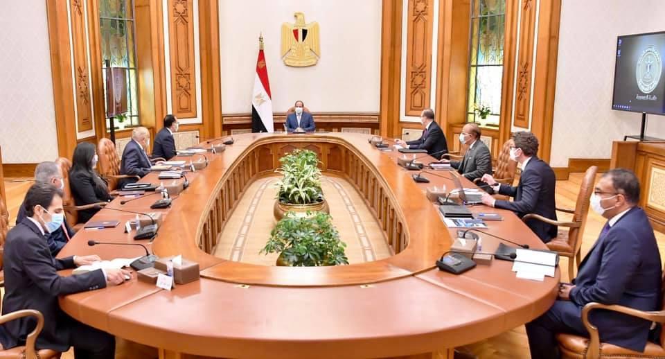 الرئيس السيسي يؤكد ان طموح مصر  غير محدود في تحقيق التطور الصناعي والتقدم والتنمية