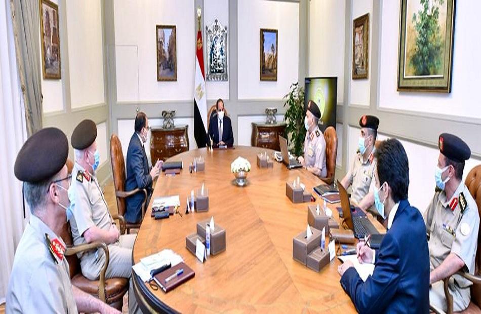 ننشر تفاصيل اجتماع الرئيس السيسي لمتابعة الموقف الإنشائي والهندسي لعدد من مشروعات الهيئة الهندسية