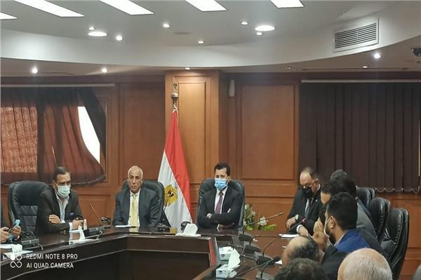 وزير الشباب والرياضة يعلن تعيين حسين لبيب رئيسًا لنادي الزمالك