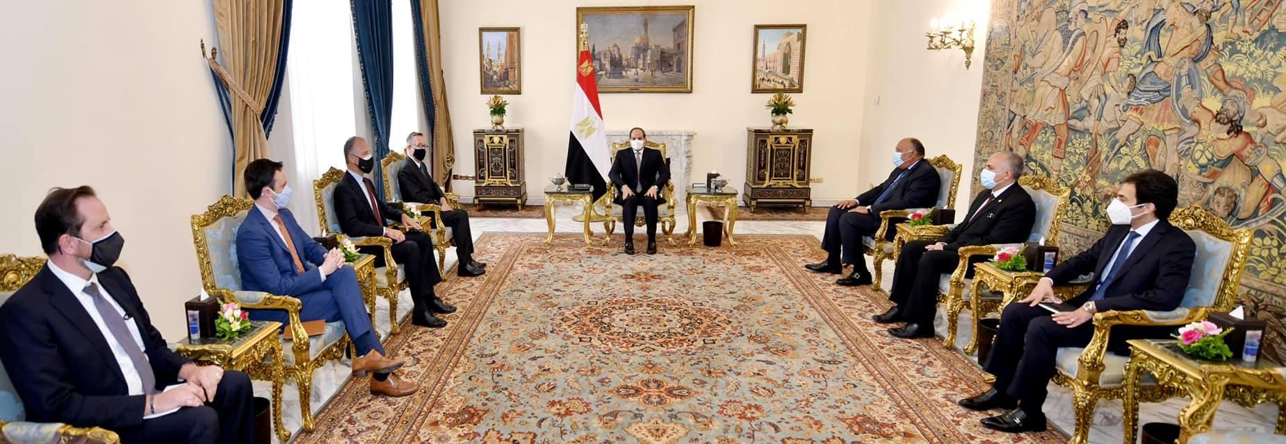السيسي للمبعوث الأمريكي: سد النهضة قضية وجودية بالنسبة لمصر