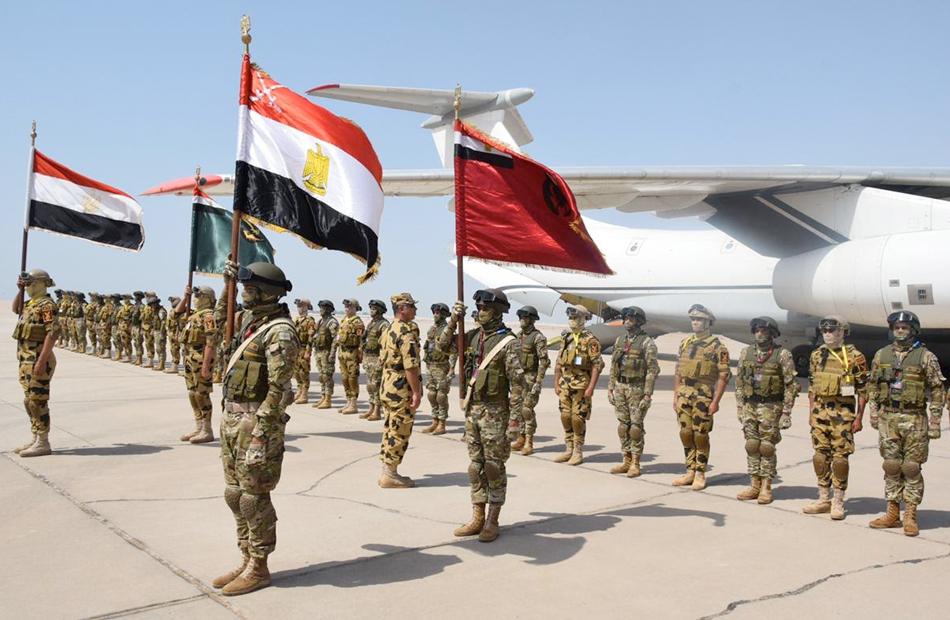 صور  انطلاق فعاليات التدريب المصري الإماراتي «زايد 3» بالإمارات