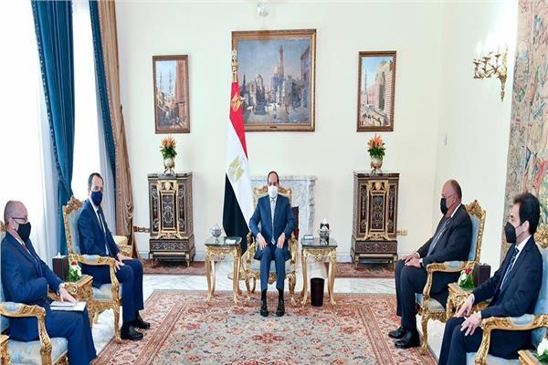 الرئيس السيسي يؤكد حرص مصر على تعزيز التعاون المشترك في جميع المجالات مع قبرص
