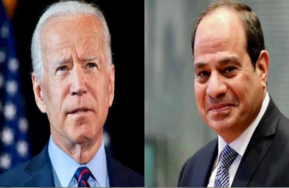 بايدن: أمريكا عازمة على بذل الجهود لضمان الأمن المائي المصري