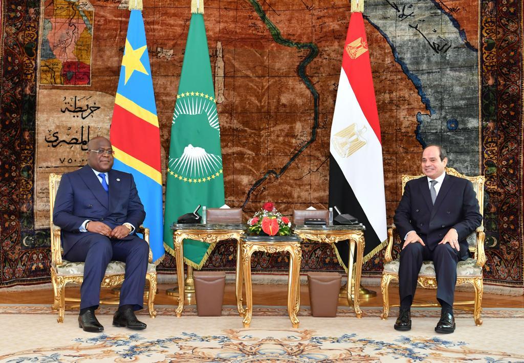 صور| «السيسي» يستقبل رئيس الكونغو الديمقراطية بقصر الاتحادية