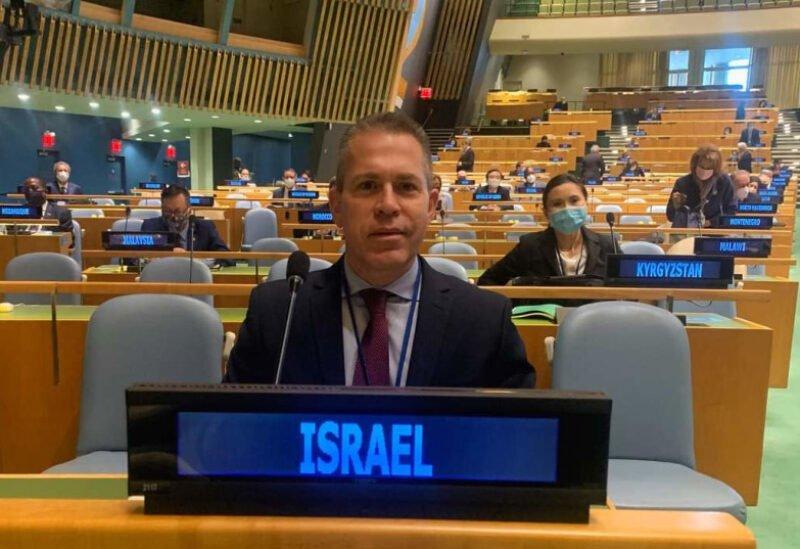 انسحاب مندوب إسرائيل من جلسة الأمم المتحدة