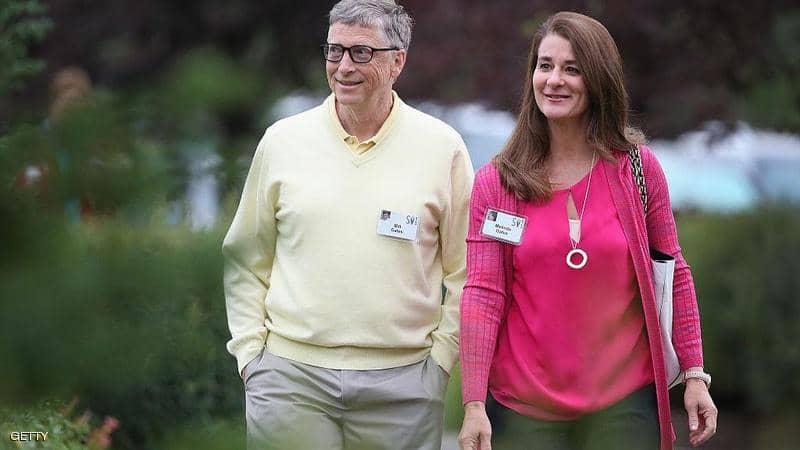 بيل جيتس وزوجته ميليندا يقرران الانفصال
