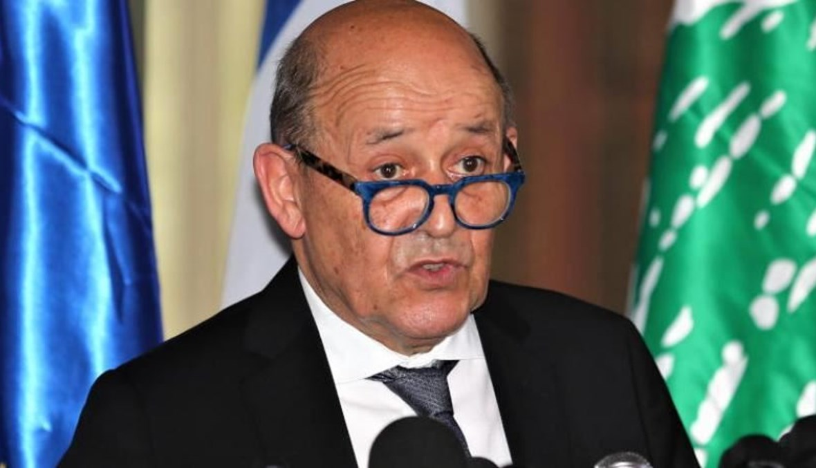 وزير الخارجية الفرنسي يؤكد مواصلة دعم بلاده للشعب اللبناني