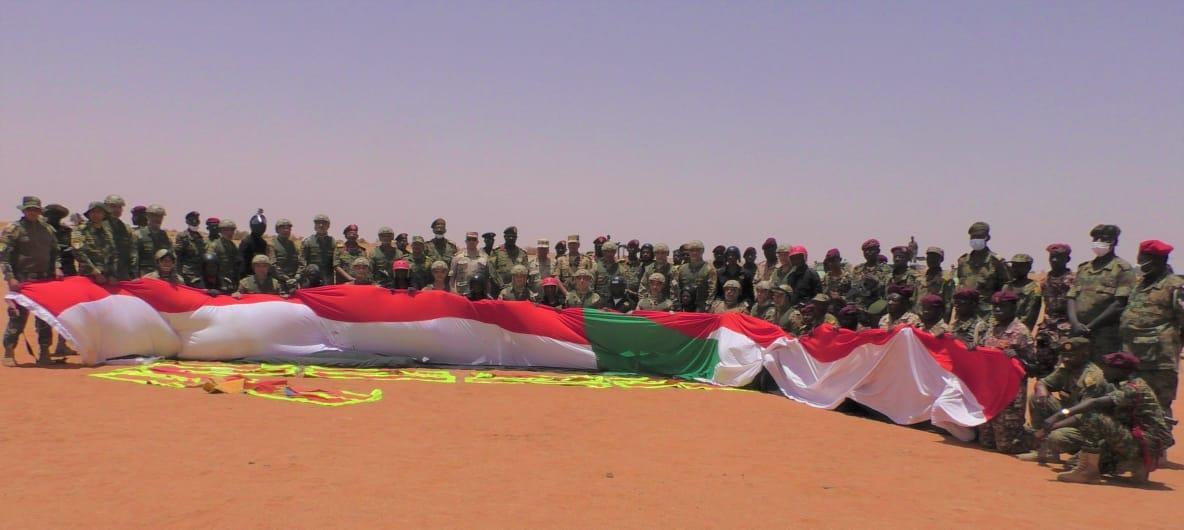 صور| انطلاق فعالیات التدریب المشترك «حماة النیل» في السودان