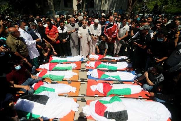 الصحة الفلسطينية: حصيلة العدوان الإسرائيلي على غزة 217 شهيداً و 1500 جريح