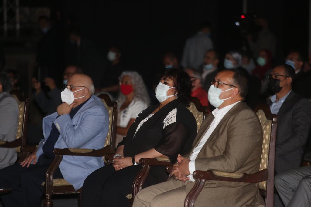 صور| وزيرة الثقافة تشهد عرض مختارات من اوبرا عايدة