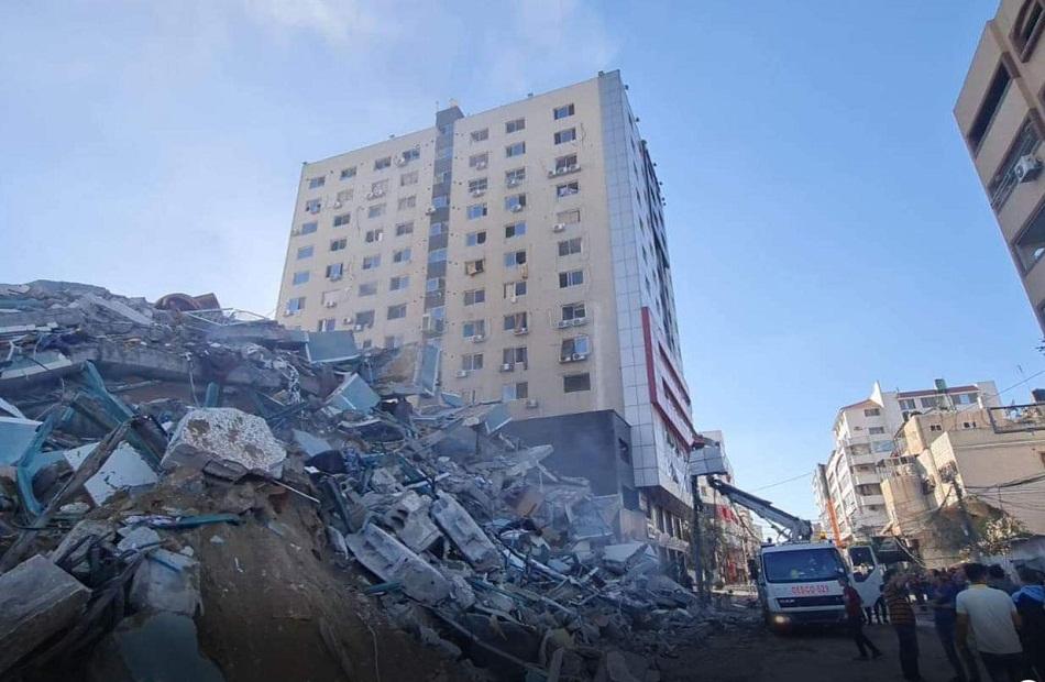 وكالة أسوشيتد برس تشعر بالصدمة إزاء قصف مكتبها في غزة