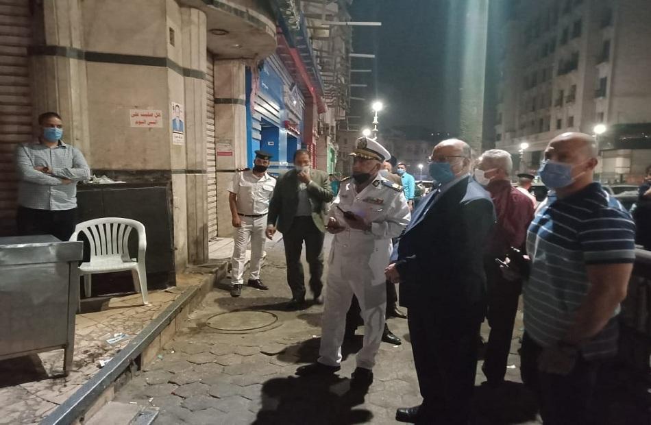 محافظ القاهرة يقرر غلق مطعم شهير في الحسين بسبب عدم الالتزام بالإجراءات الاحترازية