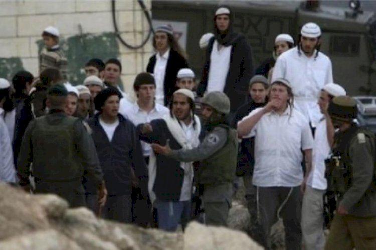 مستوطنون إسرائيليون يهاجمون منازل الفلسطينيين
