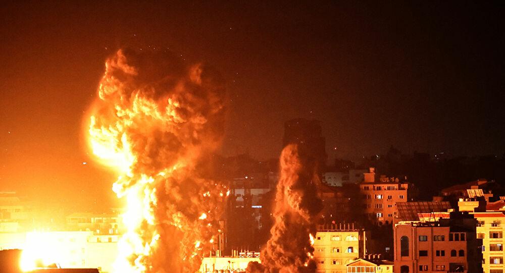 هجوم إسرائيلي عنيف على قطاع غزة بأكثر من 50 غارة مكثفة صباح اليوم