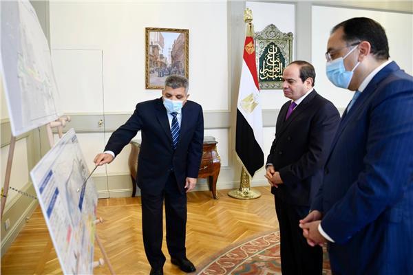 الرئيس السيسي يتابع مشروعات تطوير قناة السويس ومستجدات تحقيقات حادث سفينة «إيفرجرين»