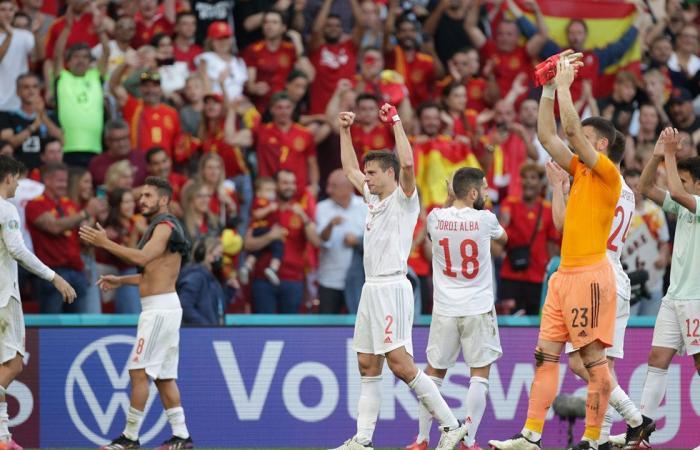 إسبانيا تصعد إلى ربع النهائي بعد الفوز على كرواتيا بخماسية في يورو 2020