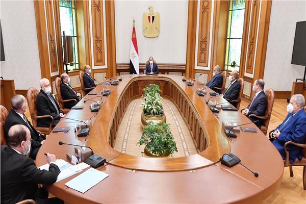 برئاسة الرئيس السيسي.. 7 قرارات تاريخية للمجلس الأعلى للهيئات القضائية
