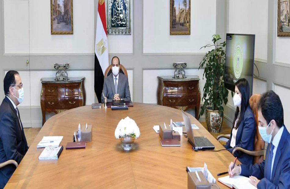 الرئيس السيسي يتابع جهود وزارة التعاون الدولي مع الشركاء الدوليين والمؤسسات التنموية الدولية
