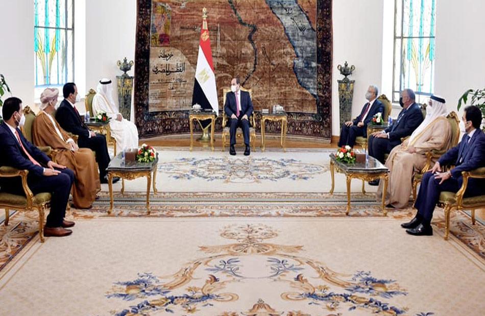 البرلمان العربي: الرئيس السيسي قدم مصر للعالم كنموذج تنموي عربي زاخر بالإنجازات