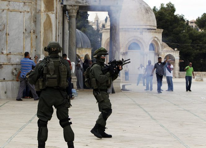 الخارجية الأردنية تدين اعتداء القوات الإسرائيلية على المصلين بالمسجد الأقصى