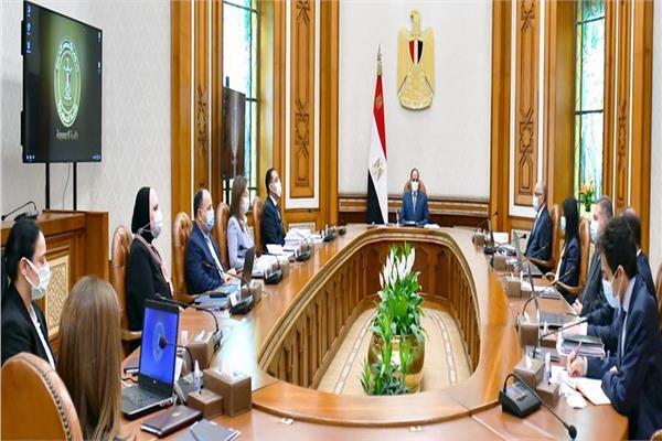 تفاصيل اجتماع الرئيس السيسي مع المجموعة الوزارية الاقتصادية