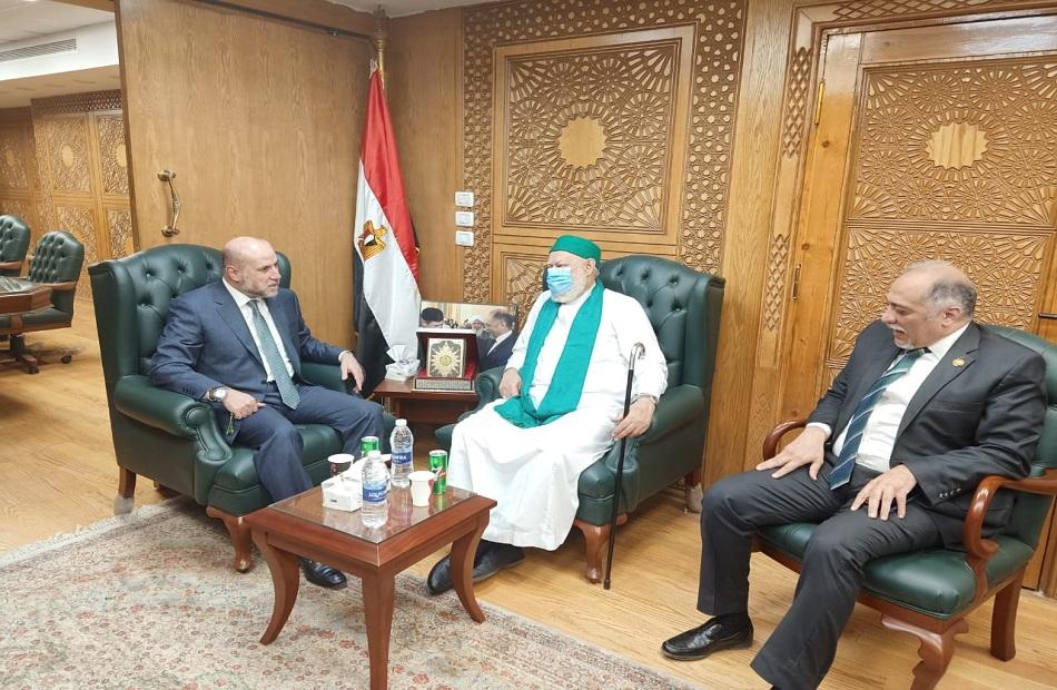 صور| مستشار الرئيس الفلسطيني: القاهرة قامت بدور عظيم فى دعم القضية الفلسطينية