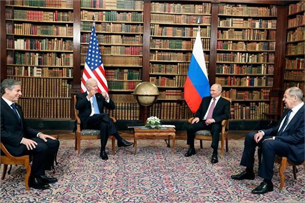 بوتين وبايدن ينهيان جلسة مباحثات مصغرة استمرت لمدة «ساعتين»