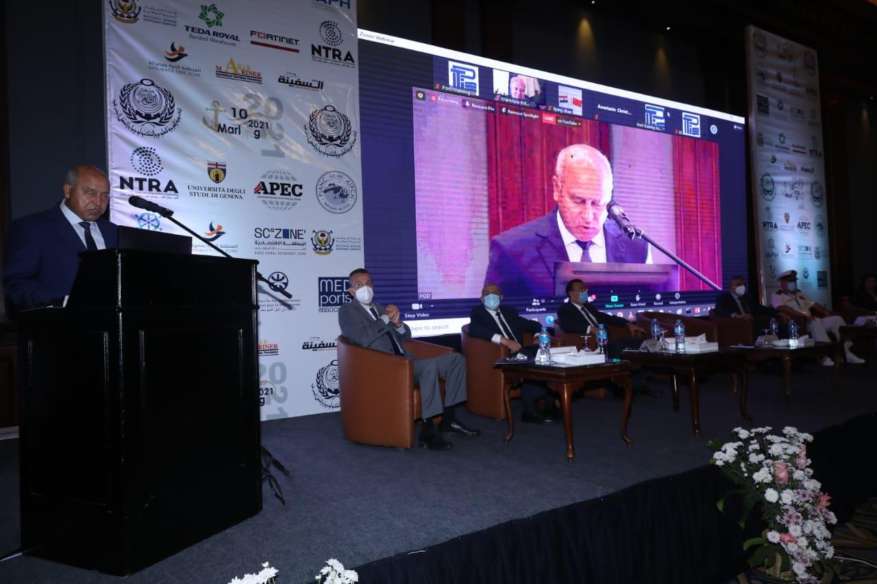 نص كلمة وزير النقل خلال افتتاح فعاليات مؤتمر مارلوج 10 اليوم بالإسكندرية