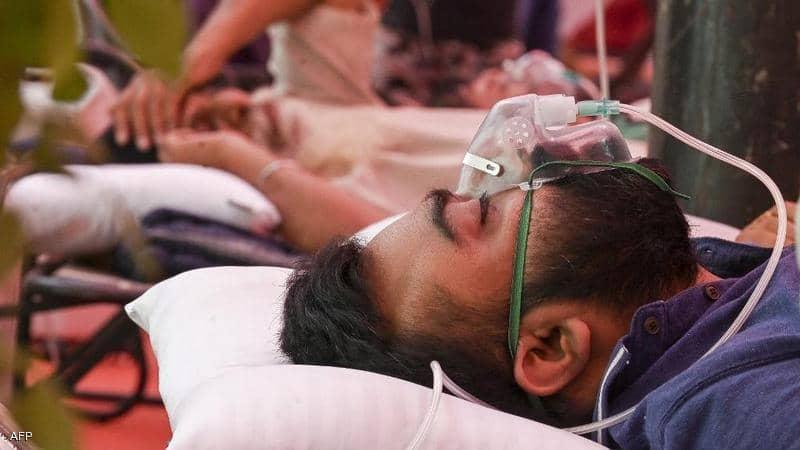 الهند تسجل 134 ألفا و154 إصابة و 2887 وفاة بفيروس كورونا خلال يوم واحد