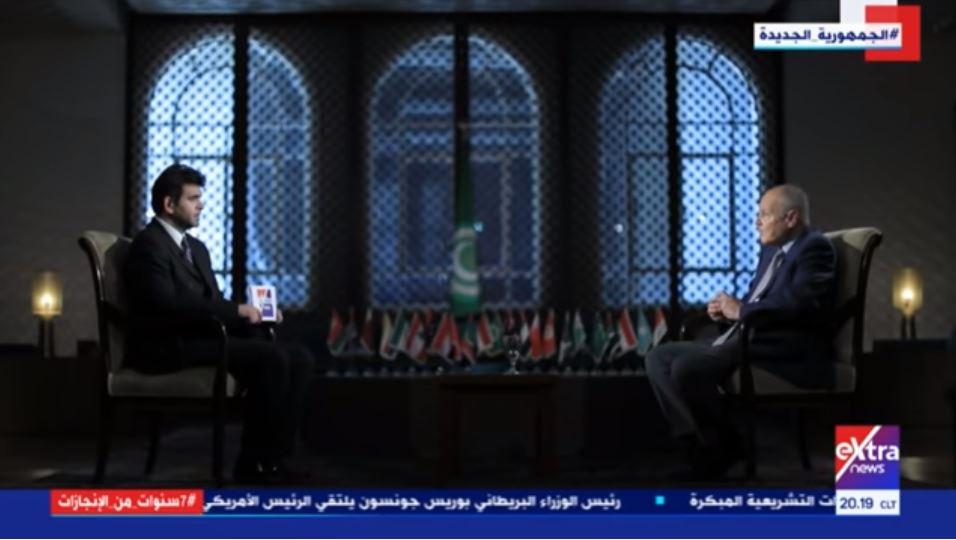 فيديو| أبو الغيط لـ الطاهري: الرئيس السيسي وضع القضية الفلسطينية على الطريق الصحيح