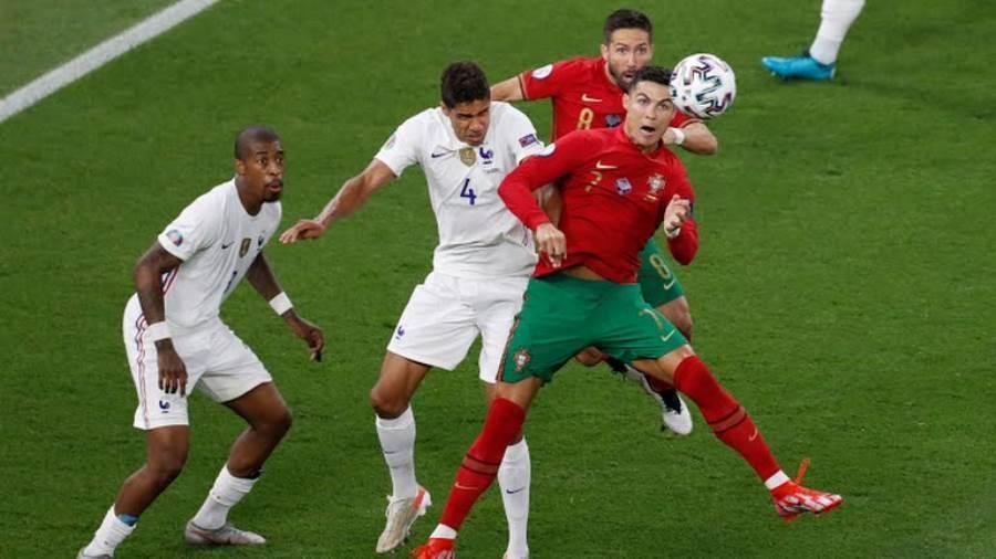 منتخب البرتغال يتعادل مع فرنسا ويتأهلان لدور الـ 16 من «يورو 2020»
