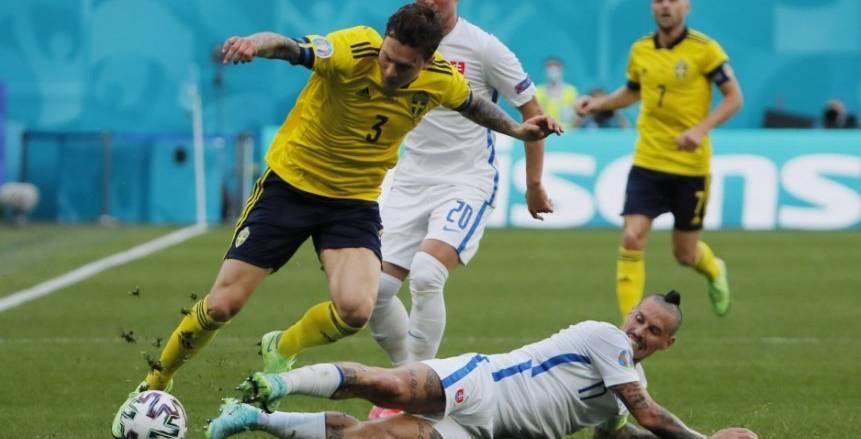 منتخب السويد يفوز على سلوفاكيا بهدف نظيف في «يورو 2020»