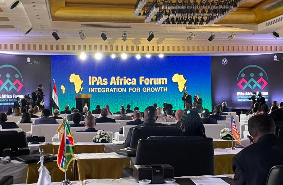 انطلاق الجلسة الافتتاحية للمنتدى الأول لرؤساء هيئات الاستثمار الإفريقية بحضور رئيس الوزراء