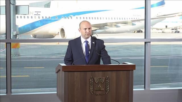 رئيس الوزراء الإسرائيلي يحذر من تفشي جديد لفيروس كورونا