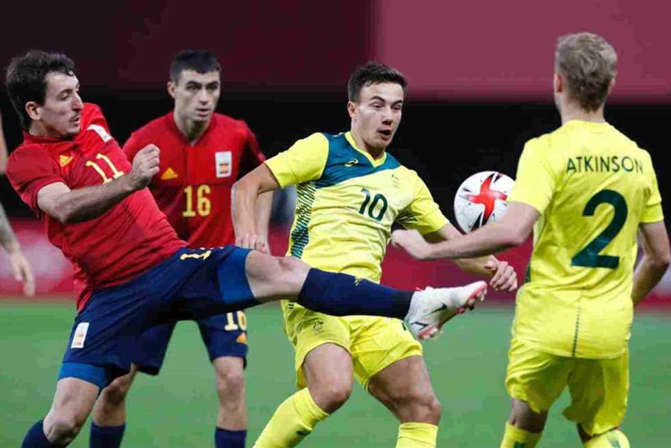 إسبانيا تهزم استراليا بهدف دون رد