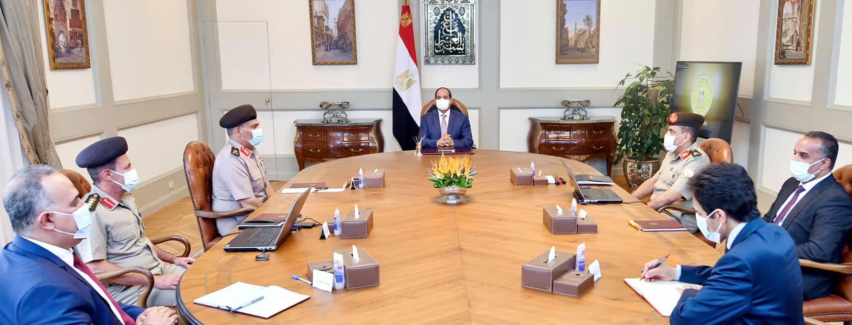 الرئيس السيسي يوجه بتطوير أضرحة «آل البيت» بشكل متكامل