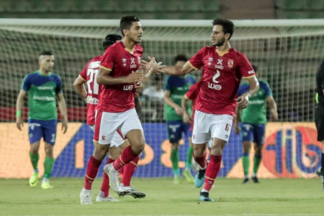 «الأهلي» يفوز برباعية ثمينة على «المقاصة» في بطولة الدوري المصري الممتاز