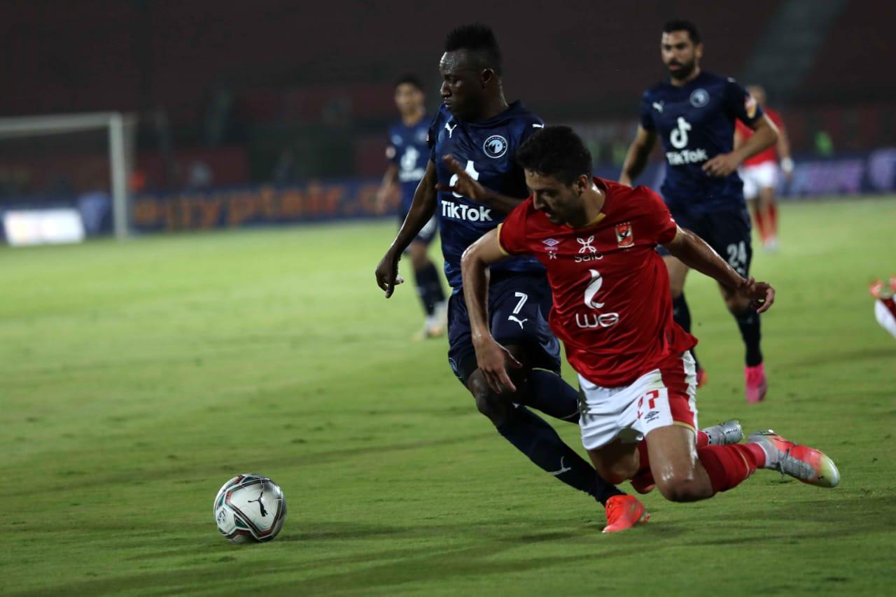 ترتيب فرق الدوري المصري الممتاز بعد تعادل «الأهلي وبيراميدز»